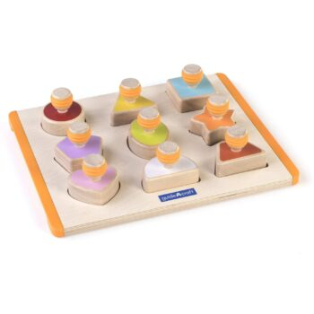 """Sorting game """"Shapes"""" 10-piece"""