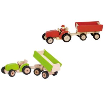 Tractor green with trailer-2.jpg
