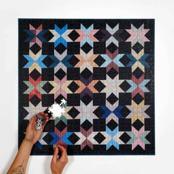Four Point Puzzles NY Quilt