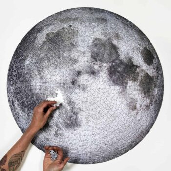 Four Point Puzzles The Moon 3